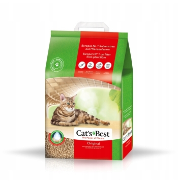 Żwirek Cat's Cats Best Eko Eco Plus ORIGINAL 10l